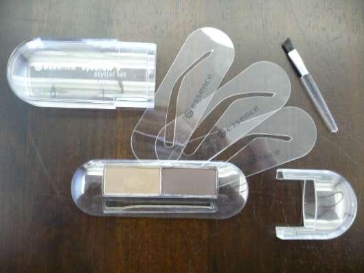 test augenbrauenstift puder creme essence eyebrow. Black Bedroom Furniture Sets. Home Design Ideas