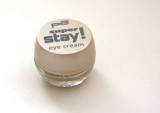 test eyeshadow p2 super stay eye cream farbe sandy beach testbericht von shewane. Black Bedroom Furniture Sets. Home Design Ideas