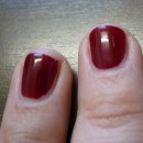 Swatches - p2 last forever nail polish, Farbe: 110 dating time