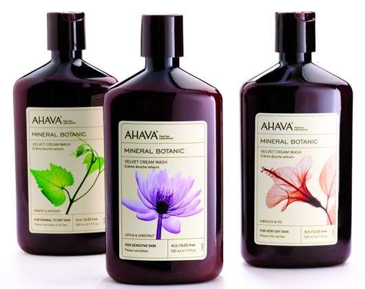 AHAVA Mineral Botanic Cremedusche