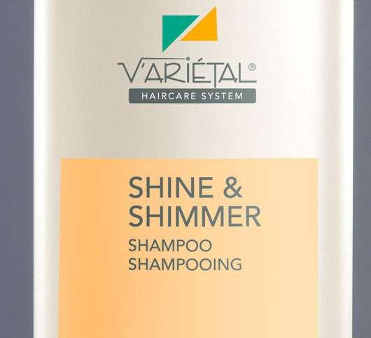 "Haarpflegeserie Variétal ""Shine & Shimmer"" von Basler Haar-Kosmetik"