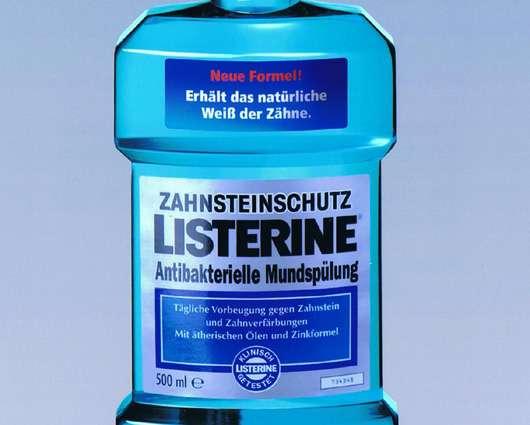 "Listerine Mundspüllösung ""Zahnsteinschutz"""