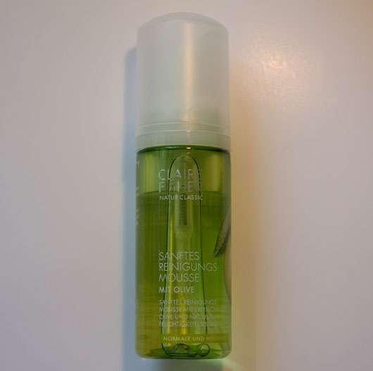 Sanftes Reinigungs-Mousse mit Olive von Claire Fisher Natur Classic