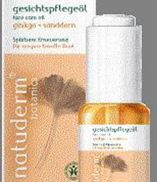 Gesichtpflege mit der Kraft des Ginkgo-Baumes natuderm®botanic
