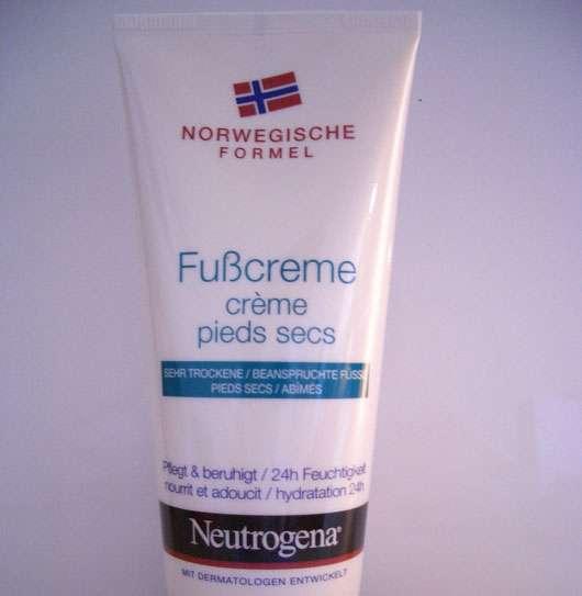 Neutrogena Fußcreme für sehr trockene und beanspruchte Füße