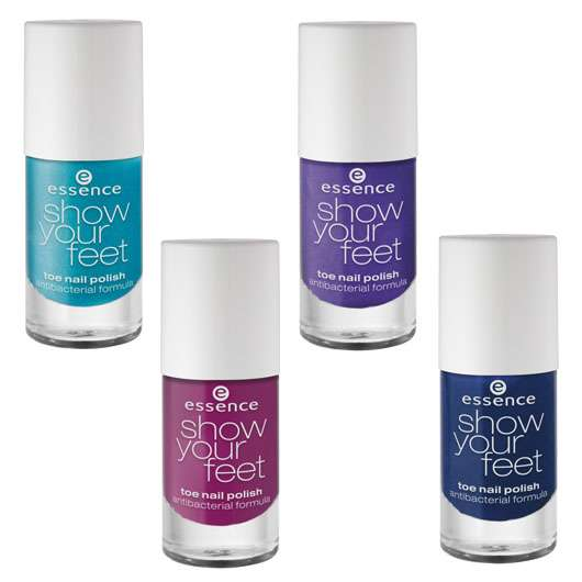 "essence trend edition ""show your feet glam up!"""