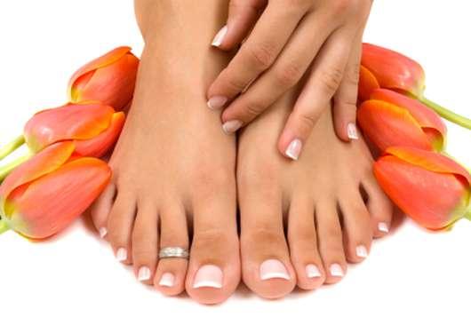 Das Sommerprogramm für Hände und Füße