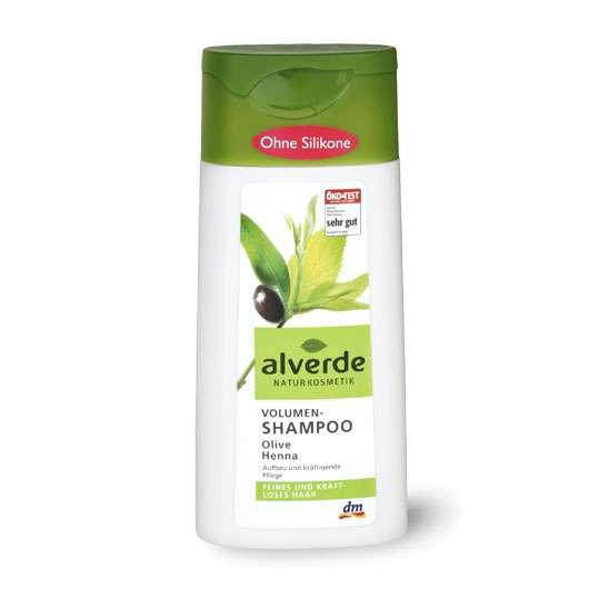 alverde Volumen-Shampoo Olive Henna, Quelle: dm-drogerie markt