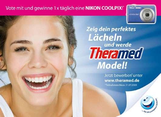 Theramed sucht das schönste Lächeln Deutschlands