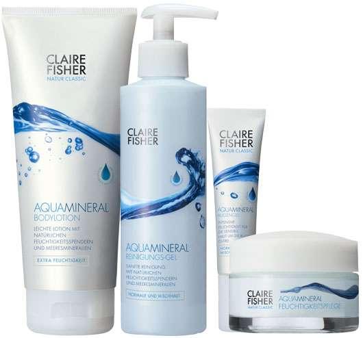 AquaMineral Feuchtigkeitspflege von Claire Fisher