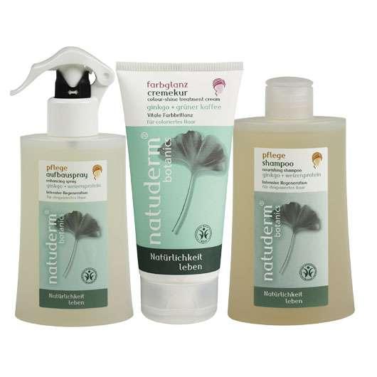 Natürliche und pflanzliche Haarpflege von natuderm®botanics
