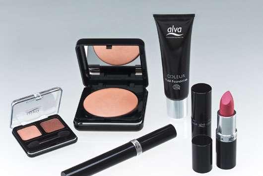 Dekorative Kosmetiklinie Coleur von alva Naturkosmetik
