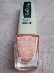 Produktbild zu IsaDora Wonder Nail Wide Brush Nagellack – Farbe: 608 Taffeta Creamy Pink (Blooming Spring Kollektion)