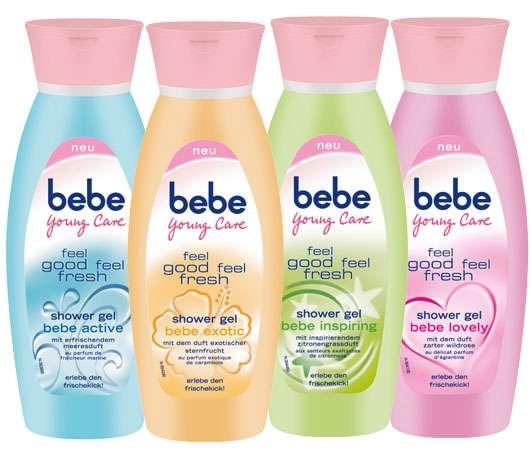 Die neuen feel good feel fresh Duschgels von bebe Young Care