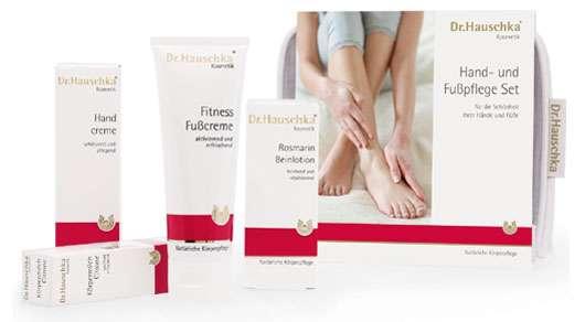 Das neue Dr.Hauschka Hand- und Fußpflege Set