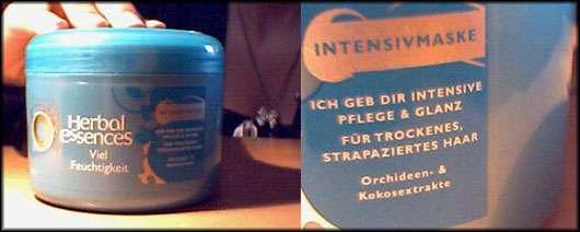 """Herbal Essences """"Viel Feuchtigkeit"""" Intensivmaske"""