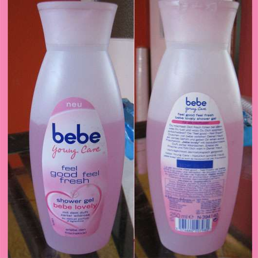 bebe Young Care feel good feel fresh shower gel (bebe lovely)