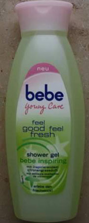 bebe Young Care feel good feel fresh shower gel (bebe inspiring)