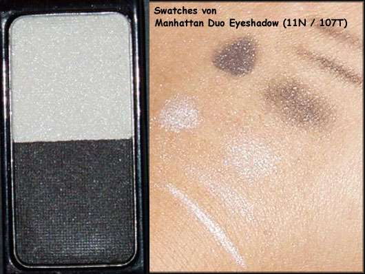 Manhattan Mybox Duo Eyeshadow, Farbe: 11N & 107T (limited Edition)