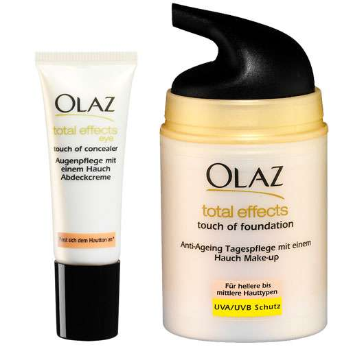 Olaz Total Effects Touch of Foundation & Touch of Concealer