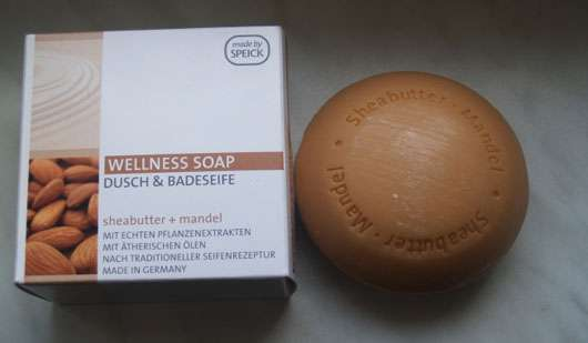 Speick Wellness Soap Dusch & Badeseife (Sheabutter + Mandel)