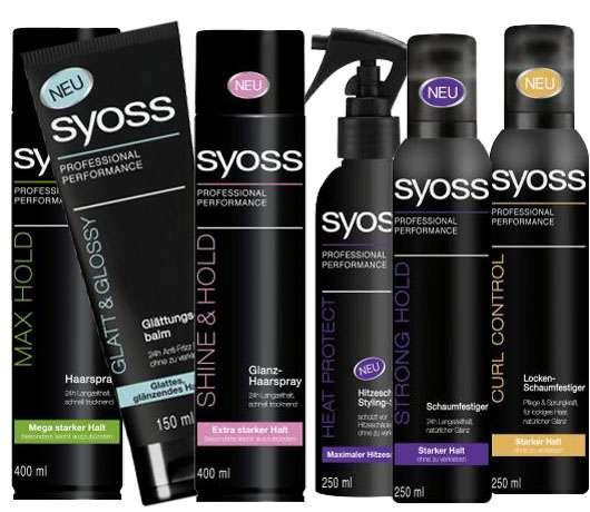 SYOSS Styling Produkte
