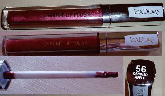 IsaDora Chrome Lip Polish, Farbe: 56 Candied Apple