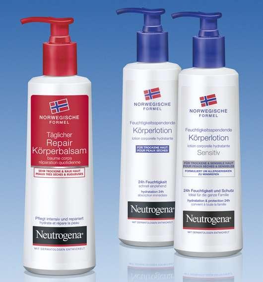 Neutrogena Norwegische Formel — Intensivpflege für die Haut