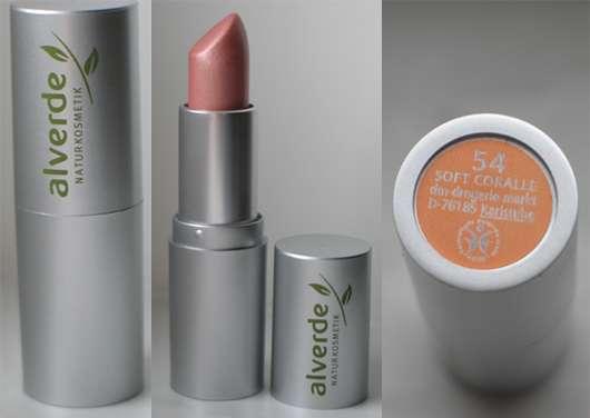 test lippenstift alverde lippenstift farbe 54 soft coralle testbericht von staybeautiful. Black Bedroom Furniture Sets. Home Design Ideas