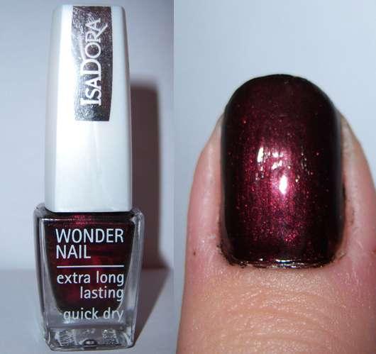 IsaDora Wonder Nail Nagellack, Farbe: 189 Black Rose