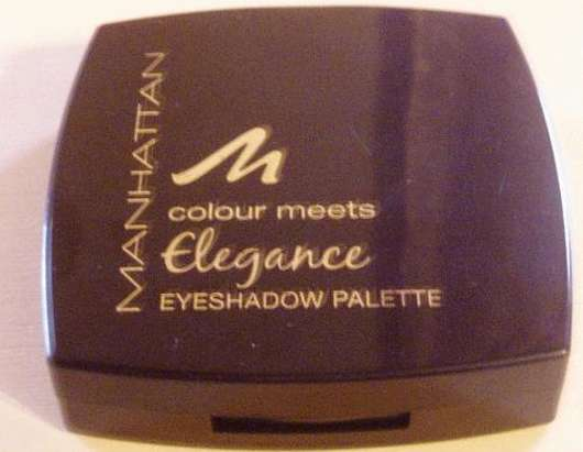 Manhatten Cosmetics Colour Meets Elegance Eyeshadow Palette, Farbe: Golden Effects (20)