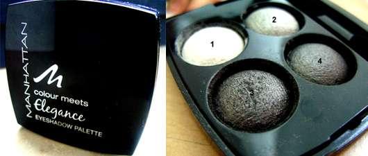 Manhattan Cosmetics Colour Meets Elegance Eyeshadow Palette, Farbe: Silver Effects 30