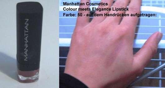 Manhattan Cosmetics Colour Meets Elegance Lipstick, Farbe: 50