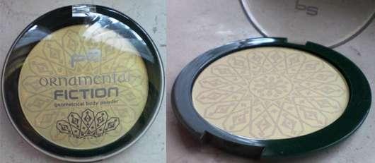 p2 Ornamental Fiction LE – geometrical body powder, 010 honey scented