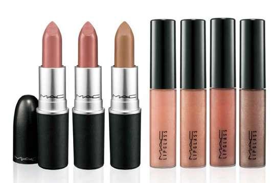 WARM & COZY Lipstick and Lipglass, Quelle: Estée Lauder Companies GmbH / M·A·C Division