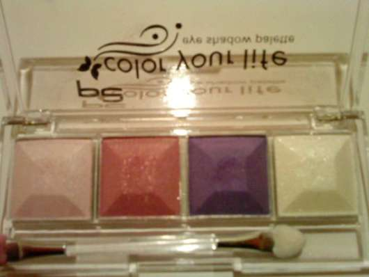 p2 Color Your Life Eyeshadow Palette, Farbe: 050 evening star (offen)