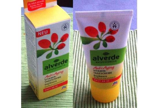 alverde Anti-Aging Vitamin-Tagescreme Gojibeere – straffend und schützend