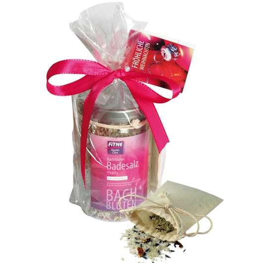 FITNE Bachblüten Badesalz Vitality Geschenkset