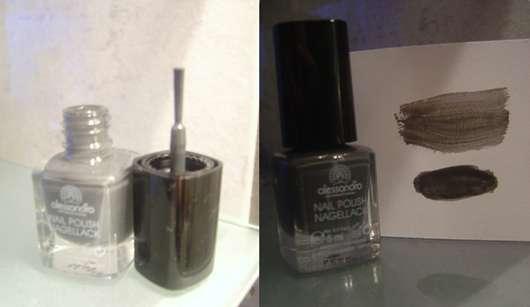 NAIL POLISH NAGELLACK von alessandro, Farbe: Grau (5 ml)