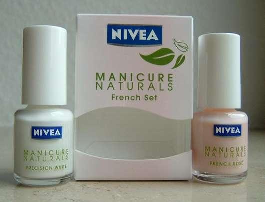 test nagellack nivea manicure naturals french set. Black Bedroom Furniture Sets. Home Design Ideas