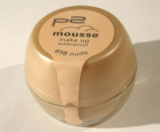 p2 Mousse Make Up Waterproof, Nuance: 010 nude