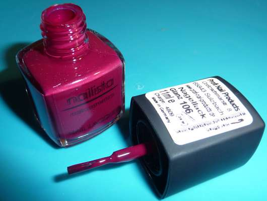 nailista nailcosmetics Nail Lacquer, Farbe 106