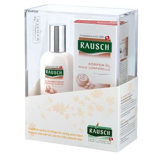 Gewinne 5 x 1 Geschenkpackung von RAUSCH für trockene Haut