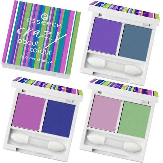"""essence trend edition """"crazy about colour"""""""