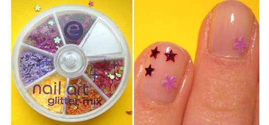"essence nail art glitter mix, 03 check it out (aus der trend edition ""be a nail artist"")"