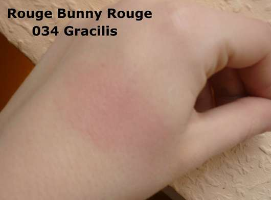 rouge bunny rouge aus liebe zu rosen unschuldiges rouge farbnuance 034 gracilis. Black Bedroom Furniture Sets. Home Design Ideas