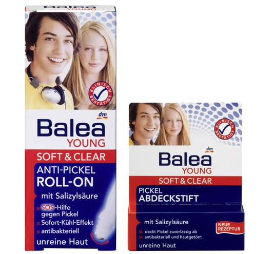 Balea YOUNG Soft + Clear