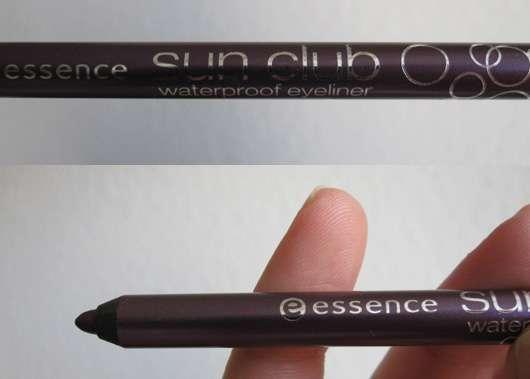 essence sun club waterproof eyeliner, Farbe: 04 purple rain
