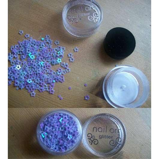 essence nail art glitter (01 glam it)