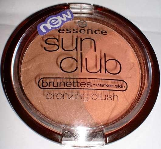 essence sun club bronzing blush for brunettes